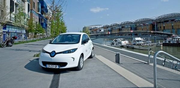 Renault ZOE à Lyon