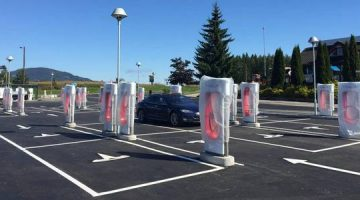 Tesla Super Chargeurs