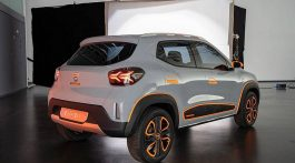Dacia Spring 100% électrique