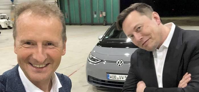 Elon musk et la VW ID.3