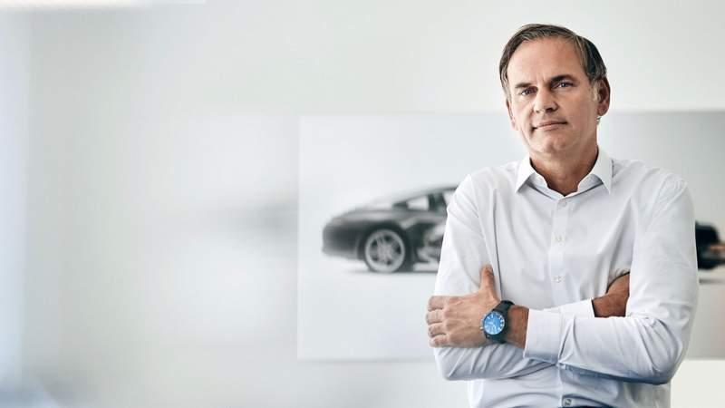 Oliver Blume, patron de Porsche