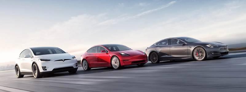 La gamme de voiture électrique Tesla avec la Model3