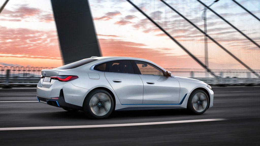 BMW i4 electrique